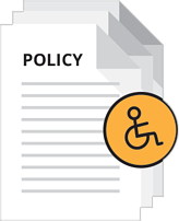 create your web accessibility policy in just minutes